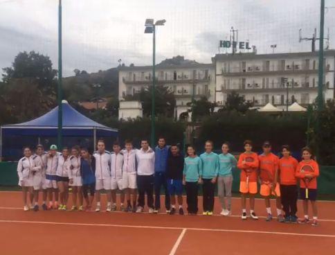 Accademia Napoli e Tennis Vomero battono anche il maltempo